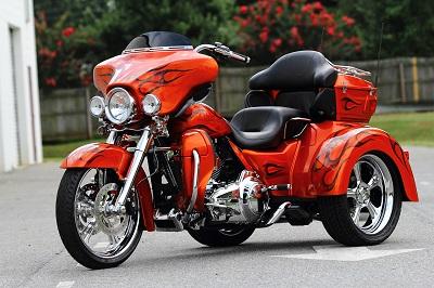 Boom Harley Davidson Tri Glide France